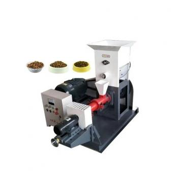 Dry Type Fish Feed Extruder Fish Feed Double Screw Extruder Machine