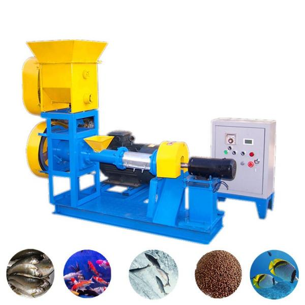 Animal Floating Fish Feed Production Line Price, Goat Poultry Small Manual Feed Making Mill Machine 2 Ton/Hour
