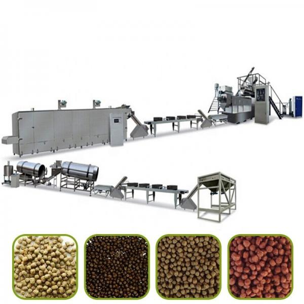 Floating Fish Food Pellet Processing Making Extruder Fish Feed Machine
